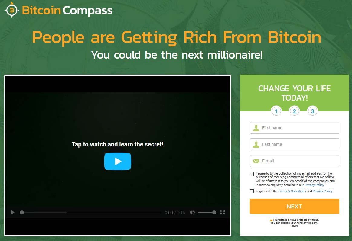 Bitcoin Compass Review – Is it SCAM or LEGIT broker?