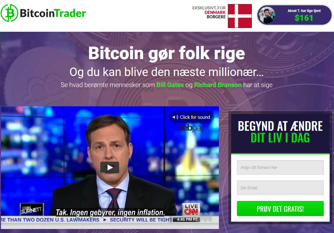 Bitcoin Trader Anmeldelse
