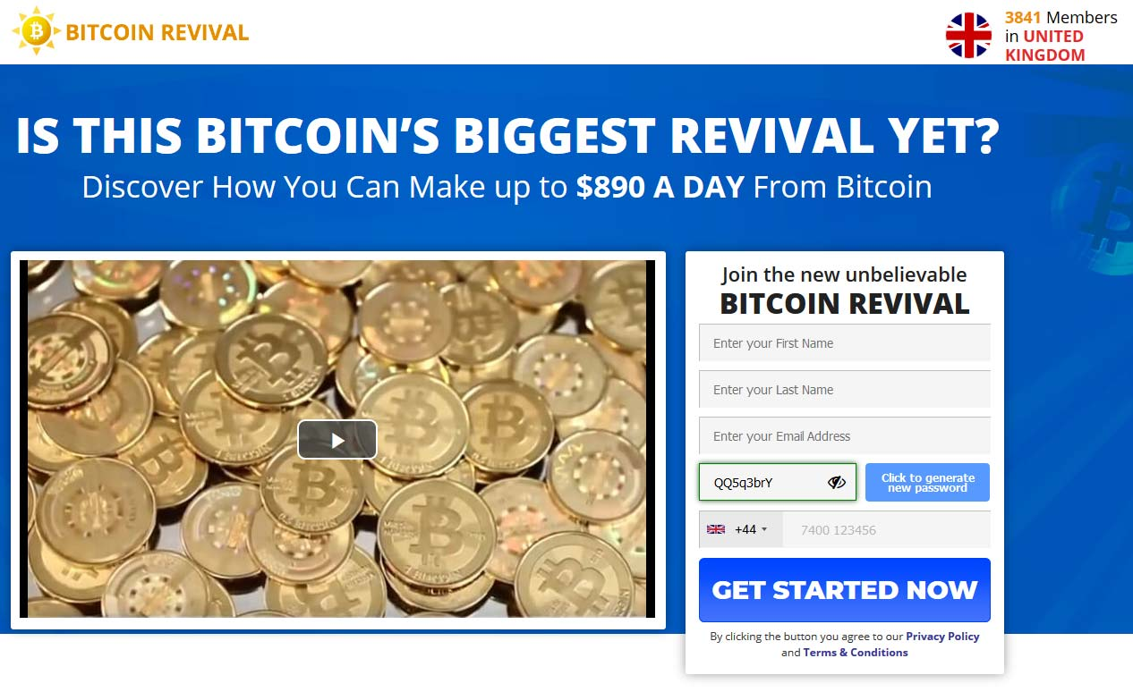 Bitcoin Revival Review – Is it SCAM or LEGIT broker?