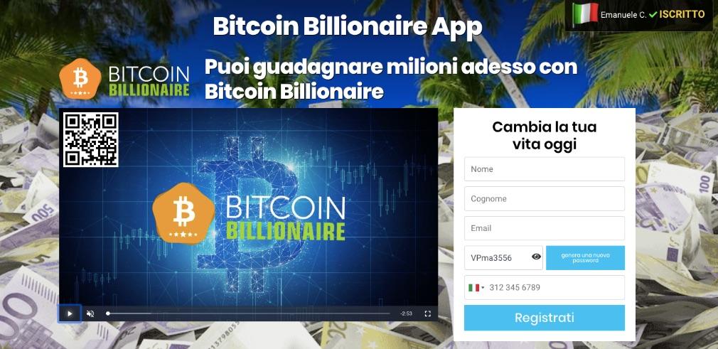 Bitcoin Billionaire Opinioni