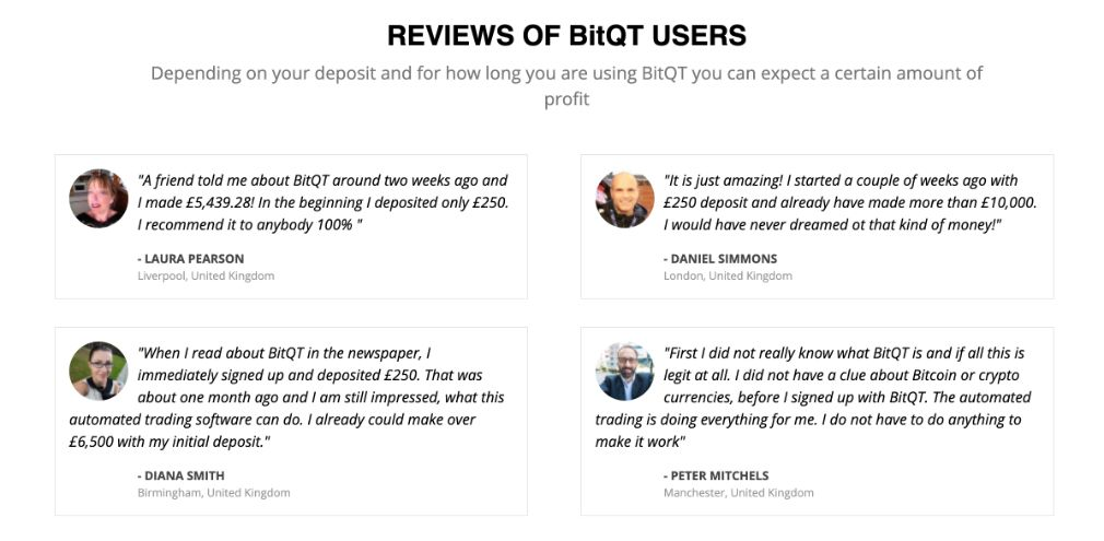 BitQT Review of users
