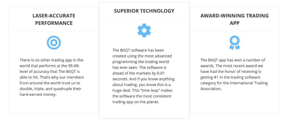 BitQT fordeler