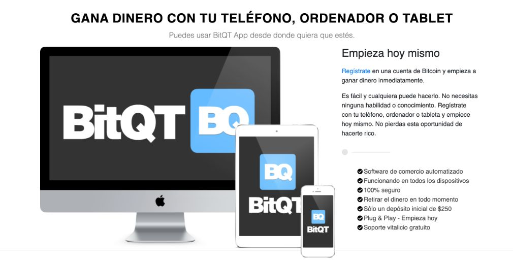 BitQT éxito
