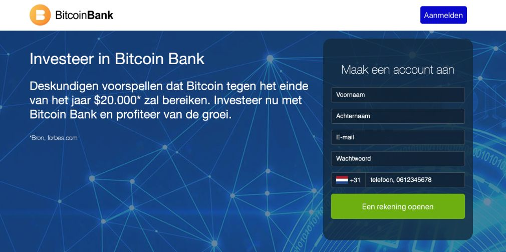 Bitcoin Bank Ervaringen & Reviews