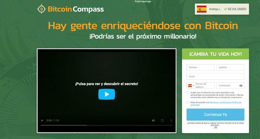 Bitcoin Compass fiable o estafa