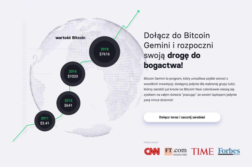 Bitcoin Gemini sukces