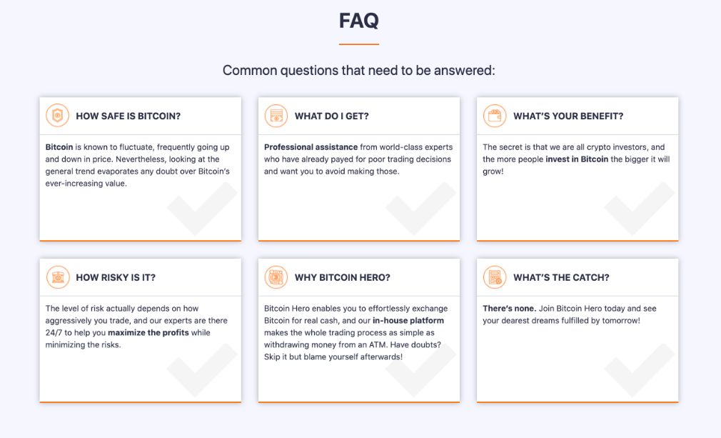 Bitcoin Hero FAQ
