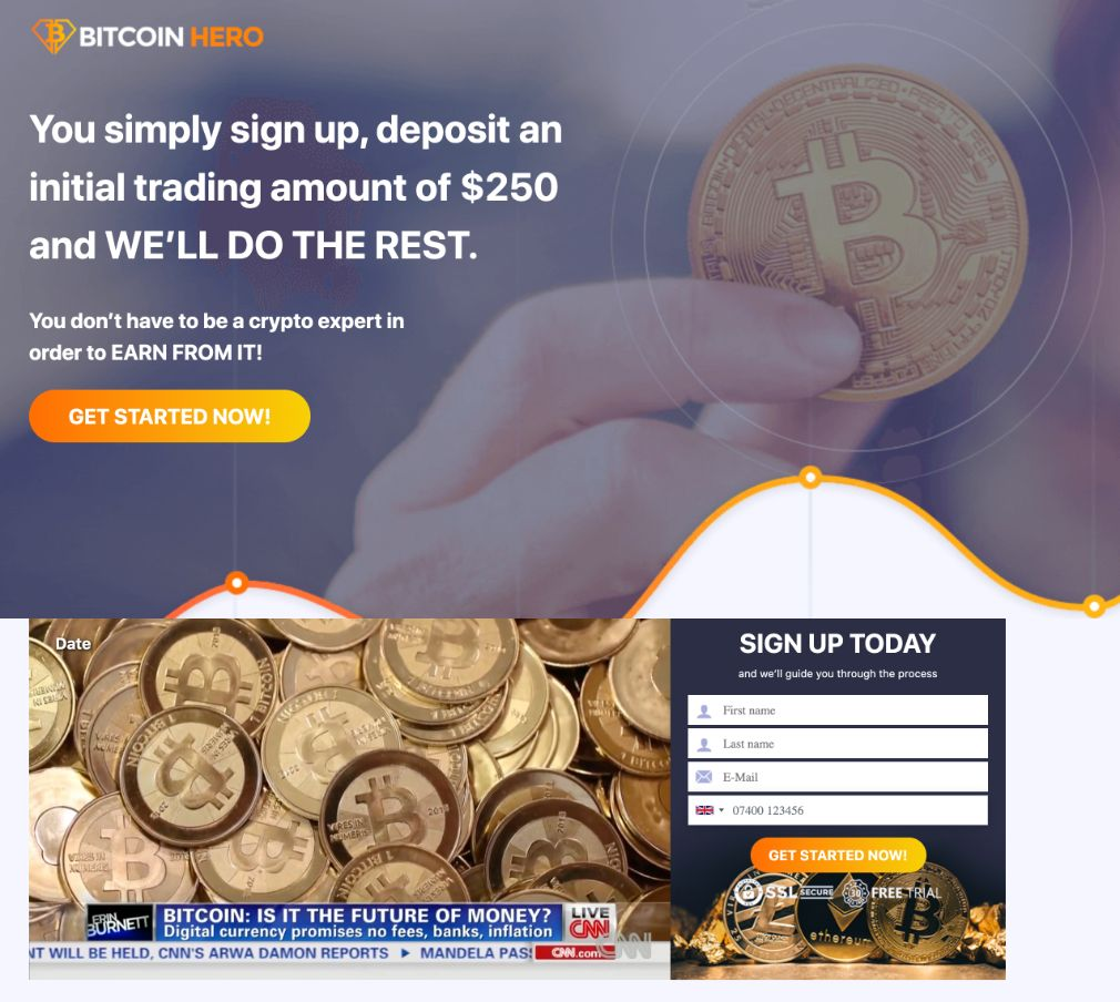 Bitcoin Hero Review – Is it SCAM or LEGIT broker?