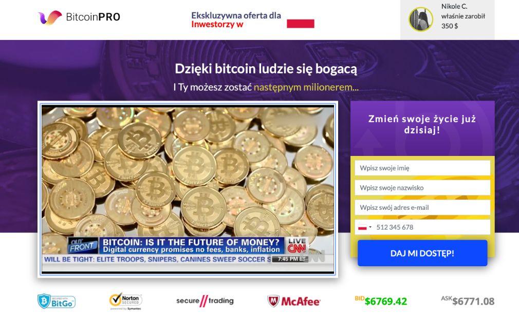Bitcoin Pro Oszustwo