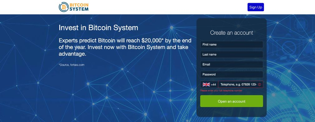 Bitcoin System Review - Is it SCAM or LEGIT broker?
