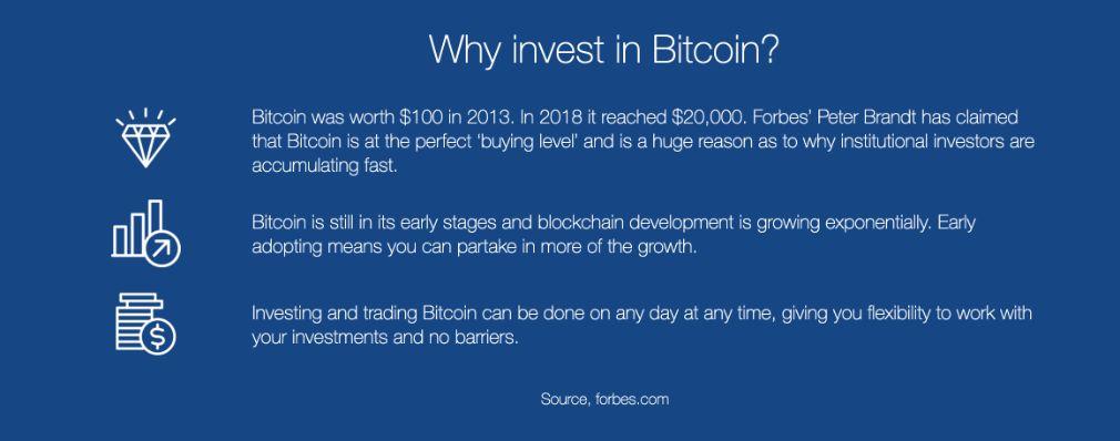 Bitcoin System benefício