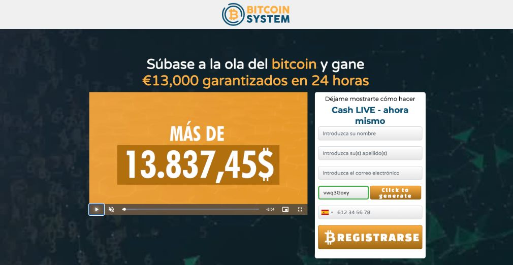 Bitcoin System fiable o estafa