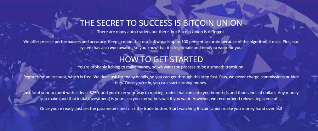 Trading with Bitcoin Union