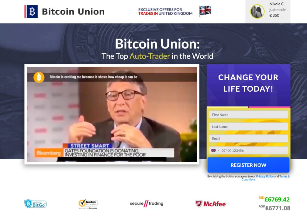 Bitcoin Union Review – Is it SCAM or LEGIT broker?