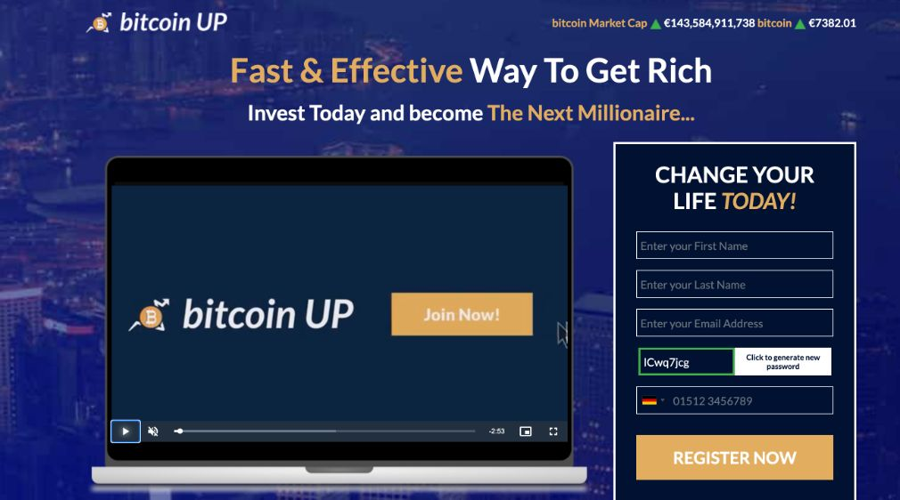 Bitcoin UP Review – Is it SCAM or LEGIT broker?