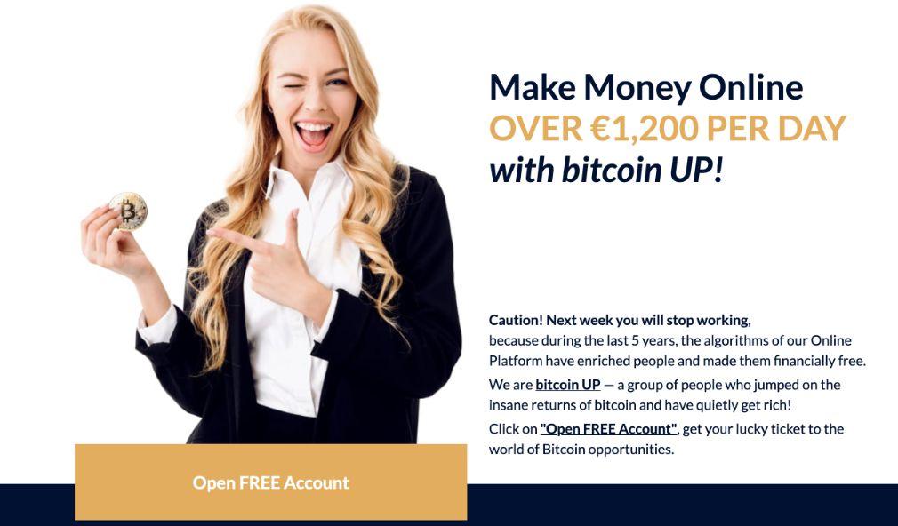Bitcoin UP avantage