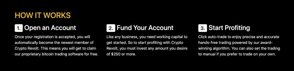 Crypto Revolt how to start