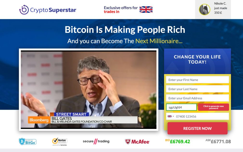 Crypto Superstar Review – Is it SCAM or LEGIT broker?
