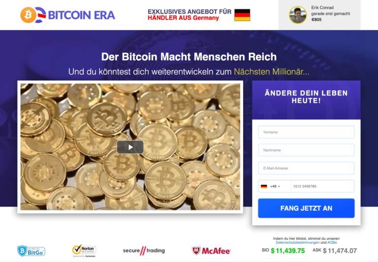 Bitcoin Era Mindesteinsatz