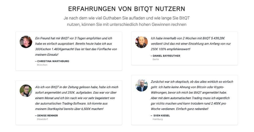 BitQT Nutzer
