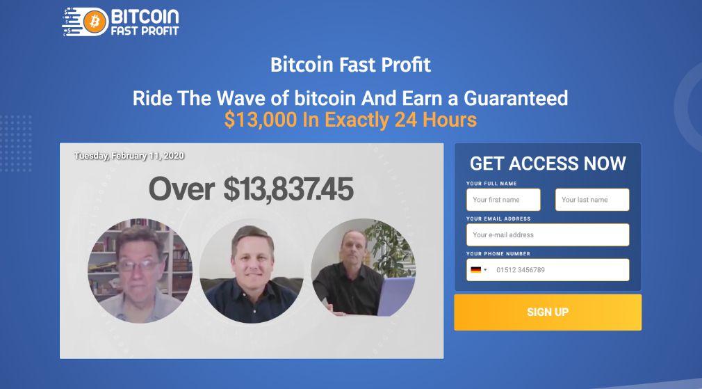 Bitcoin Fast Profit Erfahrungen und Test
