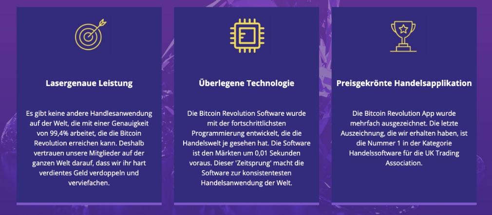 Bitcoin Revolution Vorteile