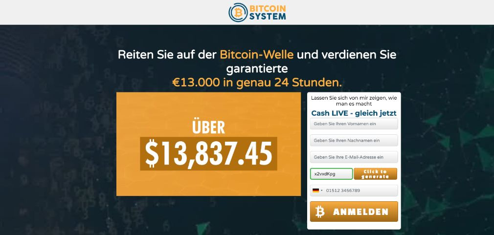 Bitcoin System Erfahrungen und Test