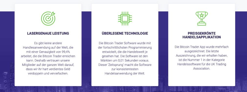 Bitcoin Trader Vorteile