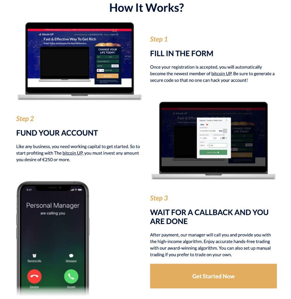 Bitcoin UP wie es funktioniert