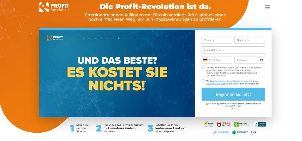 Profit Revolution Erfahrungen und Test