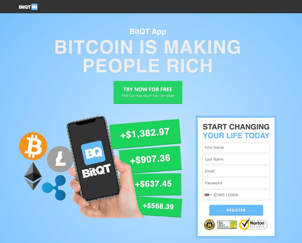 BitQT - Is there an app?