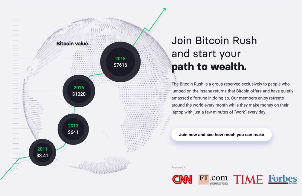 Bitcoin Rush - Was the software on Dragons´Den?
