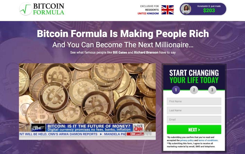 Bitcoin Formula - Costs and Fees
