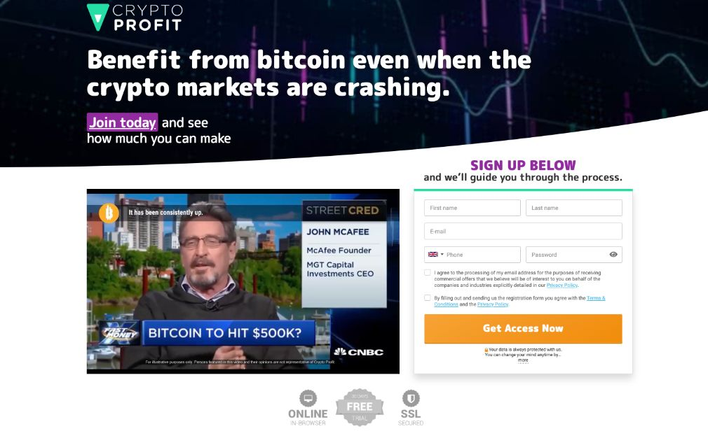 Crypto Profit - Was the software on Dragons´ Den?